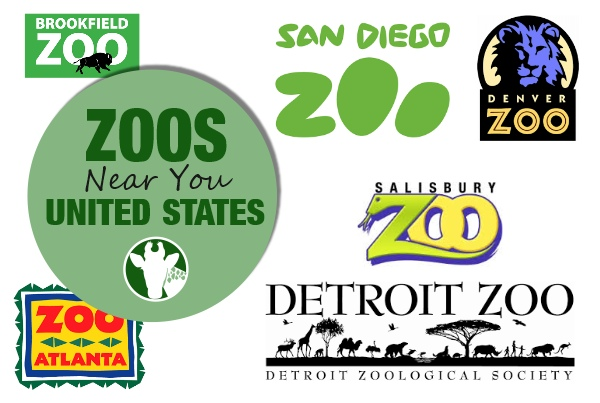 list of zoos in United States